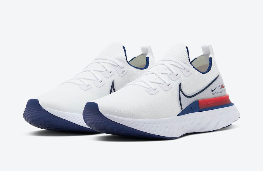 Nike React Infinity Run Blue Ribbon Sports CW7597-100 Release Date Info