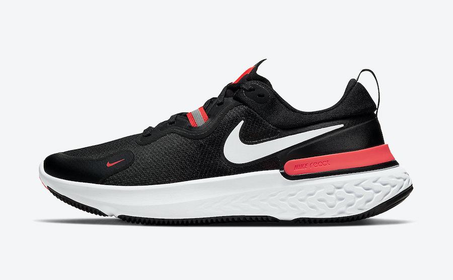 Nike React Miler Black Laser Crimson CW1777-001 Release Date Info