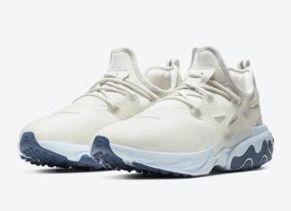 Nike React Presto Platinum Tint CK4538-001 Release Date Info