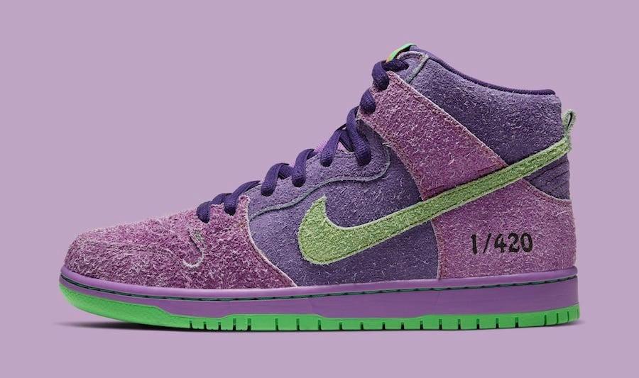 Nike SB Dunk High 420 2020 Release Date Info