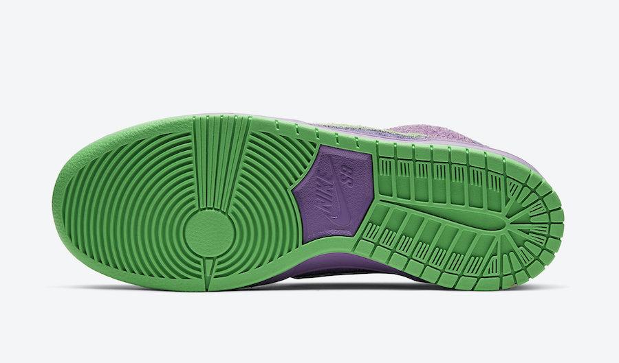 Nike SB Dunk High 420 Purple Skunk CW9971-500 Release Date