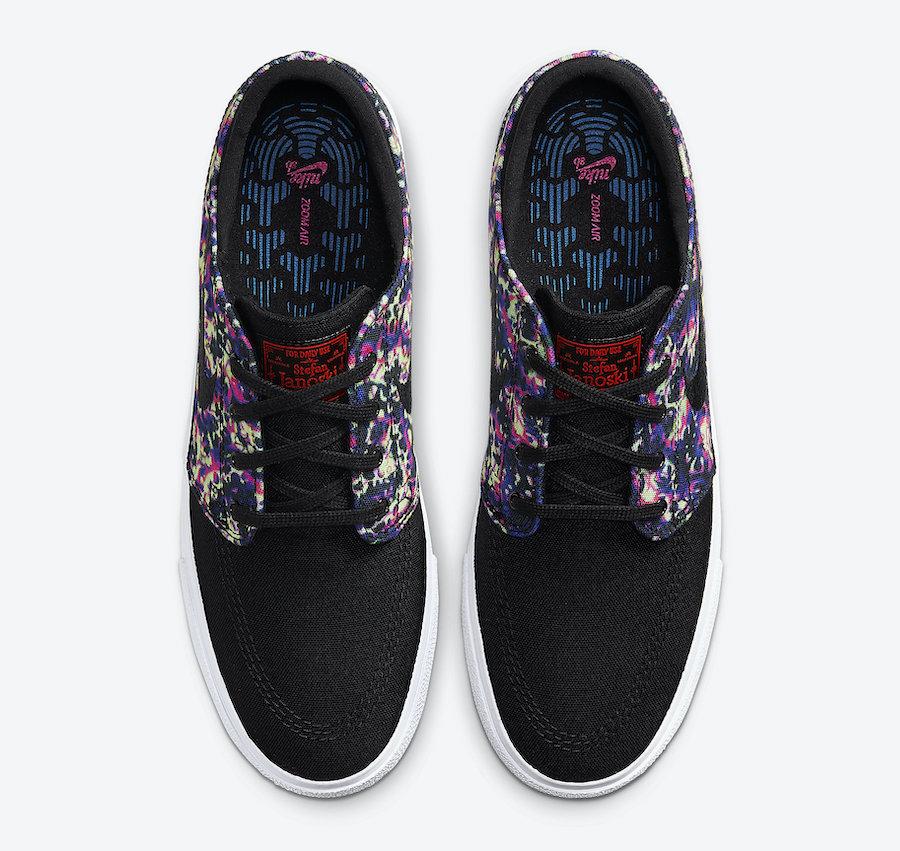Nike SB Stefan Janoski Black Laser Crimson AQ7878-003 Release Date Info