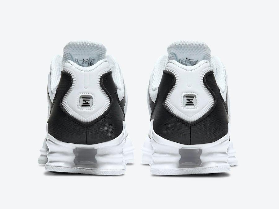 Nike Shox TL White Pure Platinum AV3595-102 Release Date Info