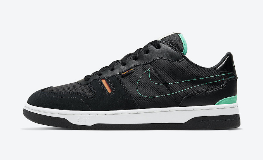 Nike Squash Type Black Menta Orange Trance CJ1640-010 Release Date Info