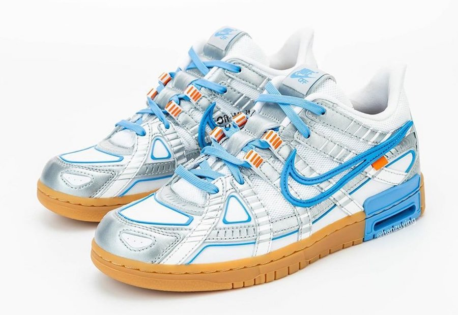 Off-White Nike Air Rubber Dunk University Blue CU6015-100 Release Date Info