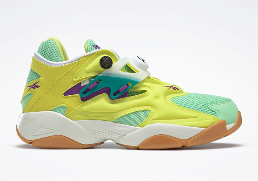 Reebok Pump Court Hero Yellow Seafoam Green FV7901 Release Date Info