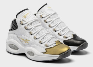Reebok Question Mid Respect My Shine EF7599