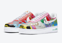 Ruohan Wang Nike Air Force 1 Low CZ3990-900 Release Info