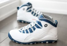Russell Westbrook Air Jordan 10 OKC Alternate 2014 PE