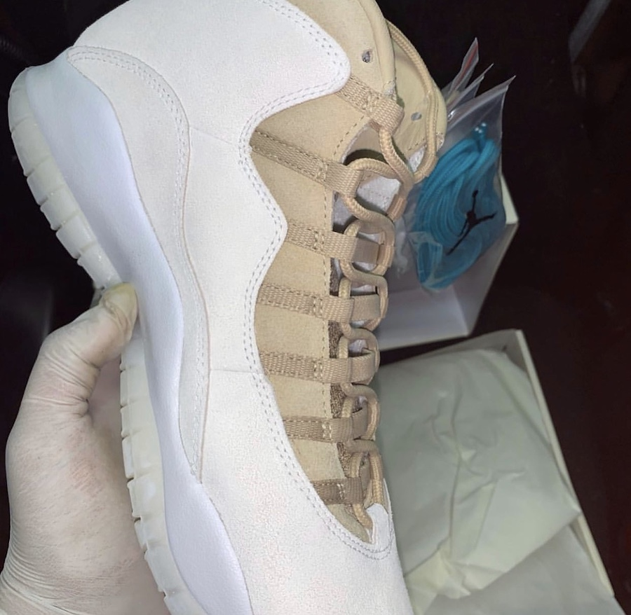 SoleFly Air Jordan 10 10th Anniversary Sail Turbo Green Release Date