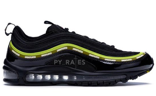 Undefeated Nike Air Max 97 Black Volt Militia Green White Release Date