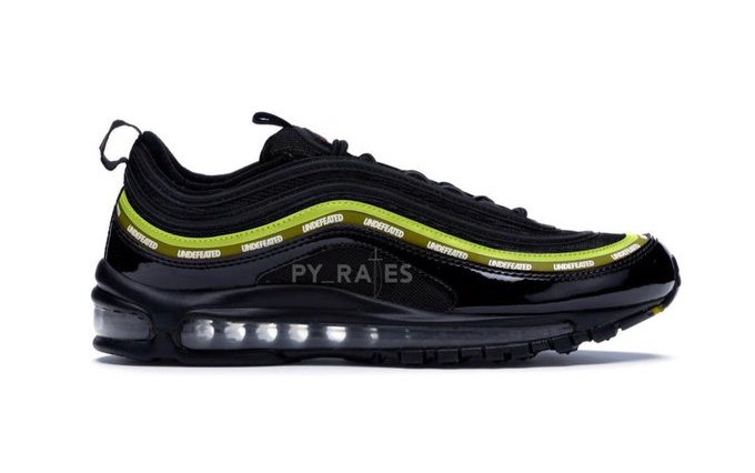 Undefeated Nike Air Max 97 Black Volt Militia Green White Release Date Info
