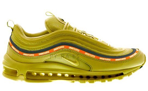 Undefeated Nike Air Max 97 Militia Green Black Orange Blaze White Release Date