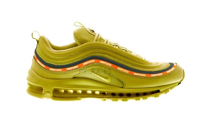 Undefeated Nike Air Max 97 Militia Green Black Orange Blaze White Release Date Info