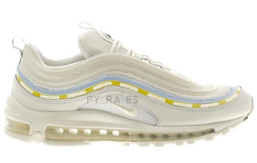 Undefeated Nike Air Max 97 Sail White Aero Blue Midwest Gold Release Date