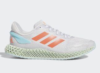 adidas 4D Run 1.0 Dash Grey Coral FW1230 Release Date Info
