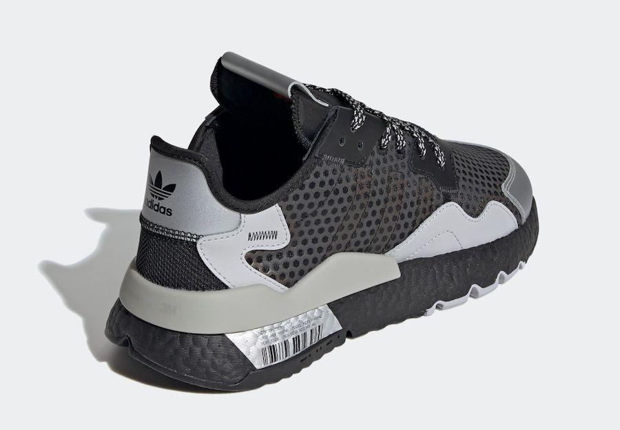 adidas Nite Jogger 3M Black Silver Metallic EF5407 Release Date Info