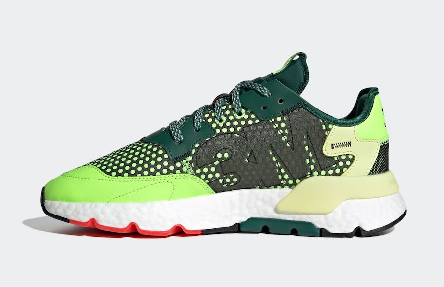 adidas Nite Jogger 3M Signal Green College Green EF5406 Release Date Info