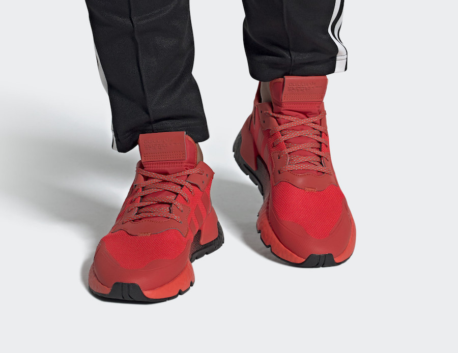 adidas Nite Jogger Hi-Res Red EF5415 Release Date Info