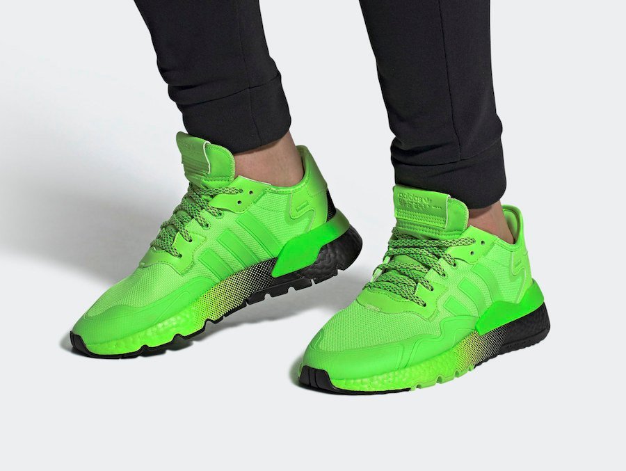 adidas Nite Jogger Signal Green EF5414 Release Date Info