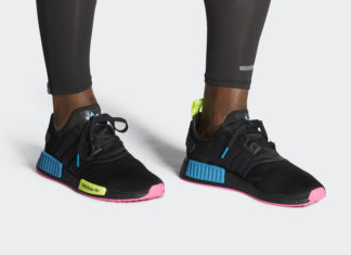 adidas NMD R1 Black Aqua Yellow FY2749 Release Date Info
