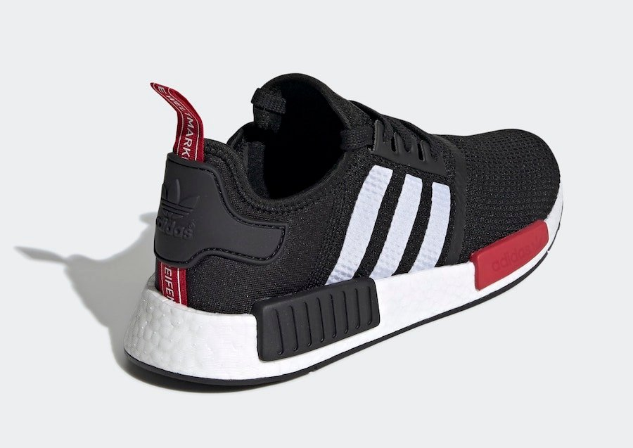 adidas NMD R1 Black White Red EG2697 Release Date Info