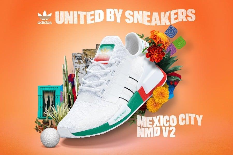adidas NMD R1 V2 Mexico City Release Date Info