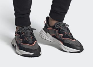 adidas Ozweego Black Grey Coral EF4289 Release Date Info