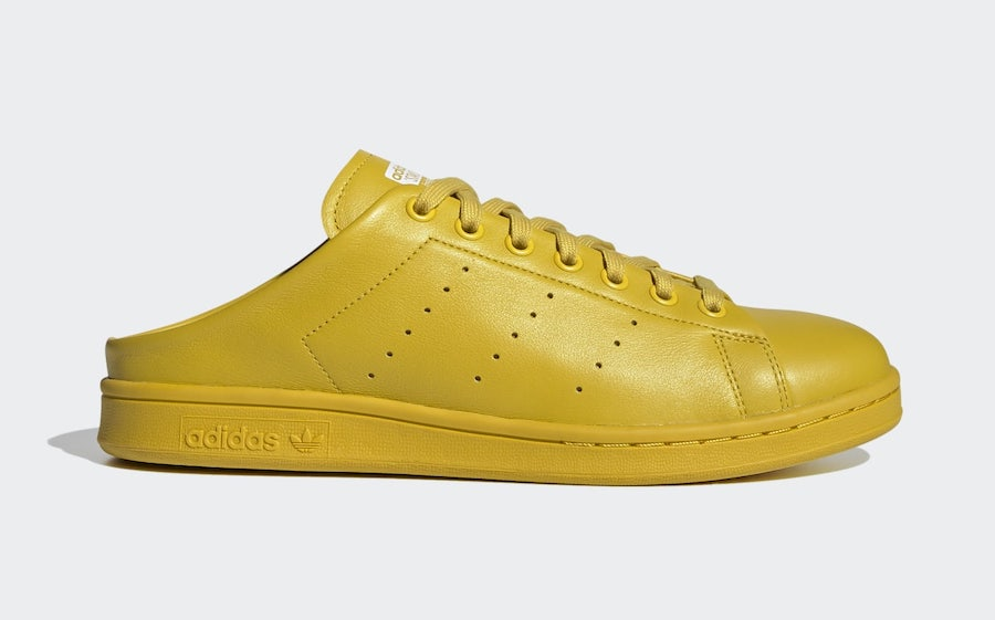 adidas Stan Smith Slip Yellow FX0531 Release Date Info