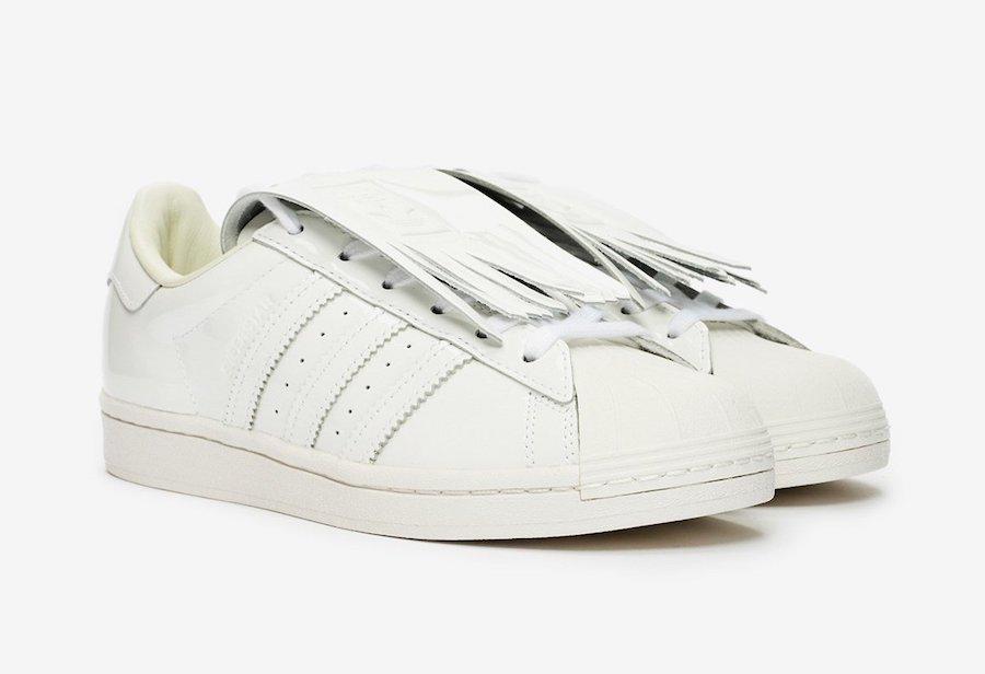 adidas Superstar Fringe White FW8154 Release Date Info