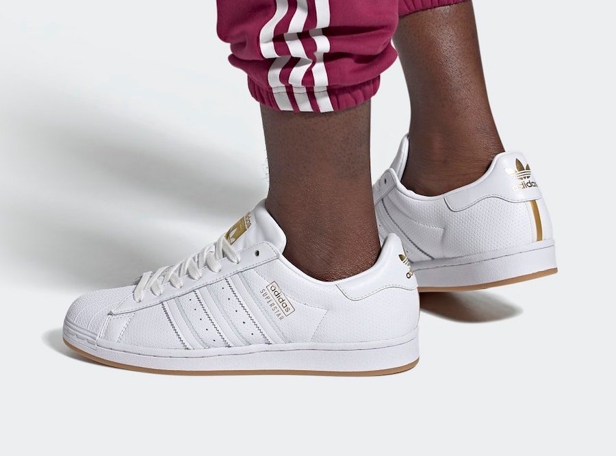 adidas Superstar Perforated White Gum FW9905 Release Date Info
