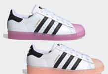 adidas Superstar Shock Purple FW3554 Haze Coral FW3553 Release Date Info