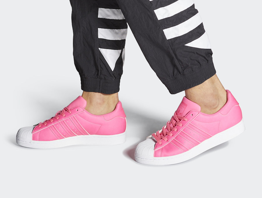 adidas Superstar Solar Pink FY2743 Release Date Info