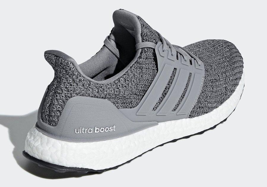 adidas Ultra Boost 4.0 Heather Grey F36156 Release Date Info