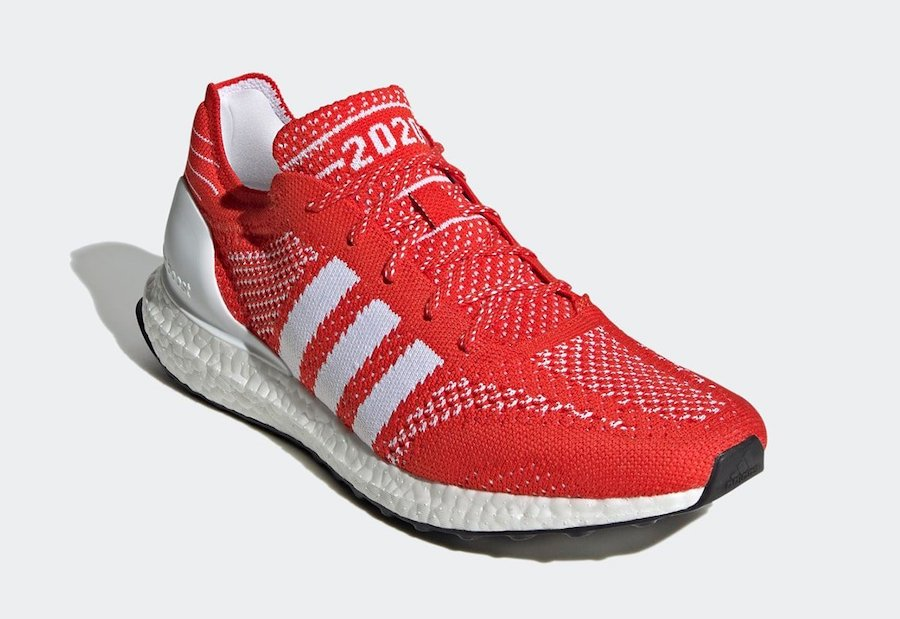 adidas Ultra Boost DNA Prime 2020 Red FV6053 Release Date Info