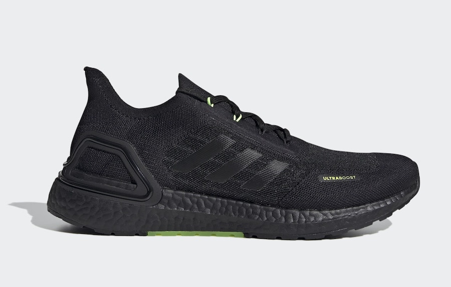 adidas Ultra Boost Summer.RDY Black Signal Green EG0750 Release Date Info