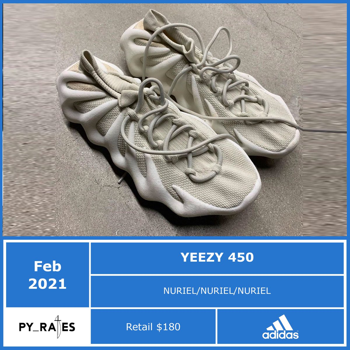 adidas Yeezy 450 Release Date