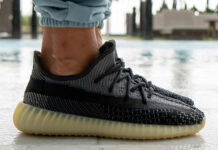 adidas Yeezy Boost 350 V2 Asriel FZ5000 On Feet
