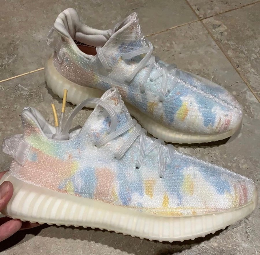 adidas Yeezy Boost 350 V2 Friends and Family Translucent Sample