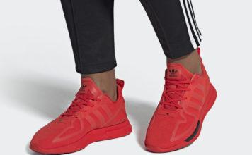 adidas ZX 2K Flux Red FV8478 Release Date Info