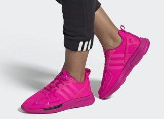 adidas ZX 2K Flux Shock Pink FV8980 Release Date Info