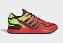 adidas ZX 750 Glory Red Shock Yellow FV8489 Release Date Info