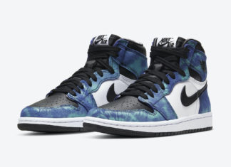 Air Jordan 1 High OG WMNS Tie-Dye CD0461-100 Release Date