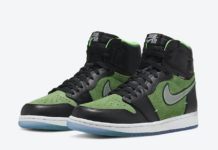 Air Jordan 1 High Zoom Brut Rage Green CK6637-002 Release Details