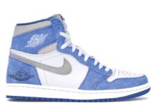 Air Jordan 1 Hyper Royal Light Smoke Grey White 555088-402 Release Date