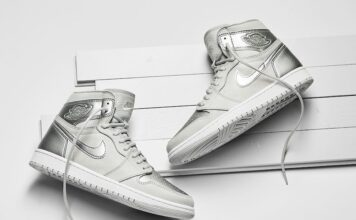Air Jordan 1 Japan Metallic Silver DC1788-029 Release Date