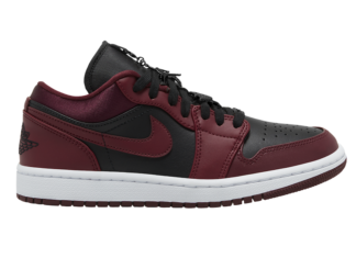 Air Jordan 1 Low Black Dark Red DB6491-600