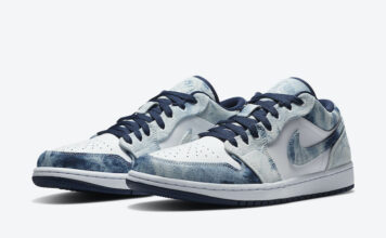 Air Jordan 1 Low Washed Denim CZ8455-100 Release Date