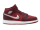 Air Jordan 1 Mid Red Quilt AV5174-600