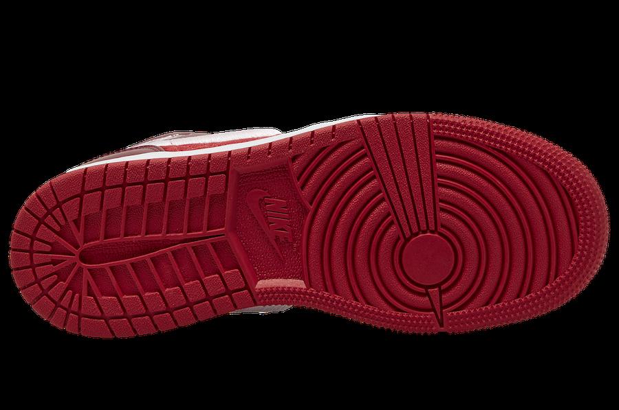 Air Jordan 1 Mid Red Quilt AV5174-600 Release Date Info